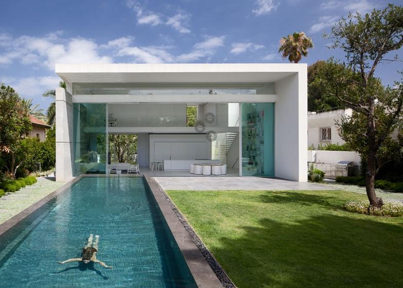 Bazén až do obýváku