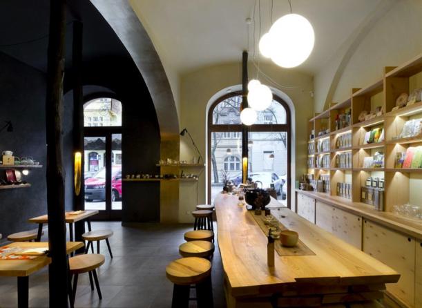 Bar / restaurace / café - Teamountain: zažít čaj jinak