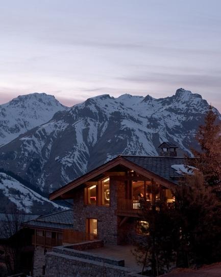 Interiér - Poklad ukrytý ve francouzských Alpách