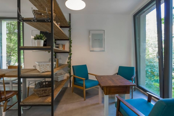 Bar / restaurace / café - Park Café: Když elektřinu nahradí vůně kávy