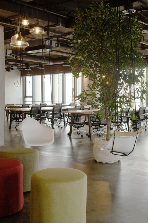 Kancelář - Kanceláře firmy LEO prostupuje interakce