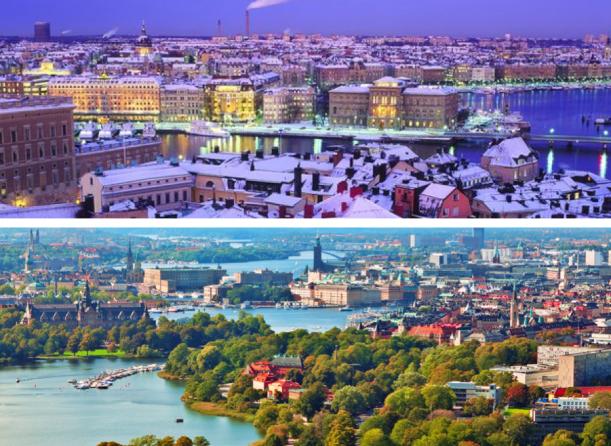 Inspirace - Vrtiška-Žák jako průvodci Stockholmem