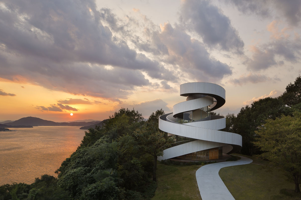 Kaple od NAP Architects vám umožní mít svatbu jako z pohádky