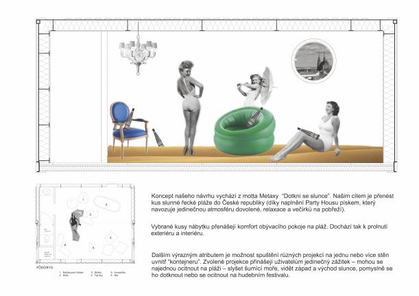Komerční projekty - Metaxa spojila síly smladými talenty