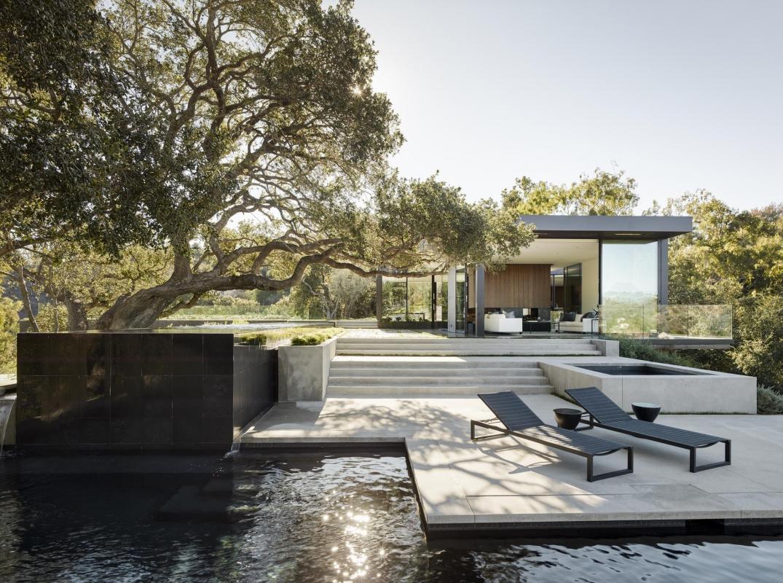 Oak Pass House: Dubová oáza  v Beverly Hills