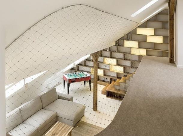 Obchod - Zaoblený loft