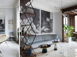 Milánský byt plně využívá kouzlo domu z 30. let