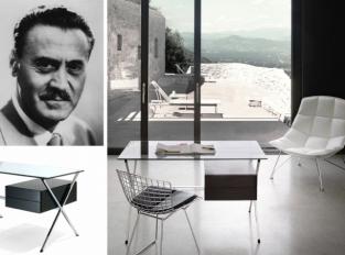 Albini Desk: přísná geometrická forma jako vrchol elegance