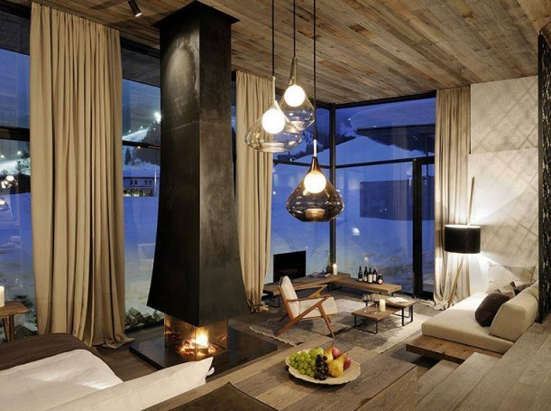Interiér - Alpský hotel Wiesergut