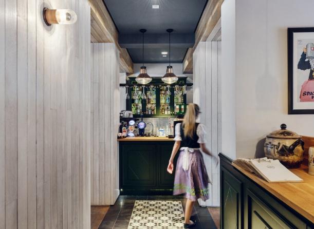 Kancelář - Restaurace Althaus v Gdyni