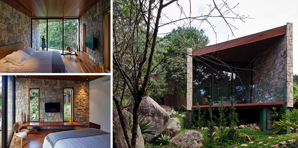 Spisovatelské doupě od Architectare propojuje jednoduchou stavbu s přírodou