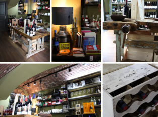 Kouzelná prodejna vína jménem Enoteca Aroma