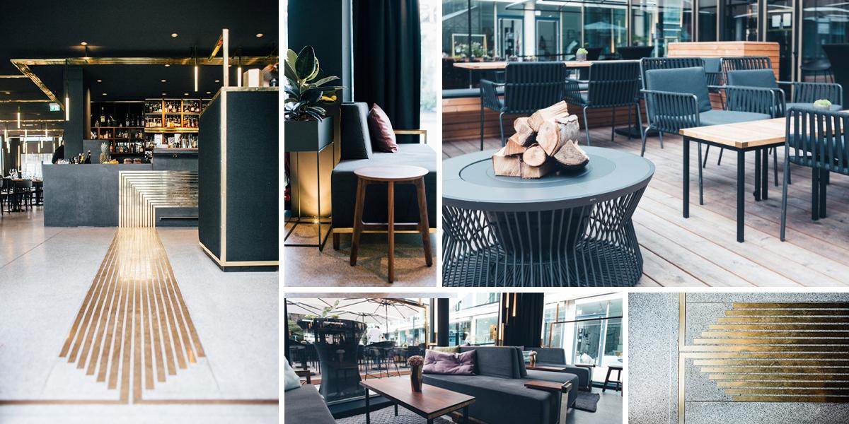 V poválečné modernistické budově v Mnichově vznikl jedinečný bar
