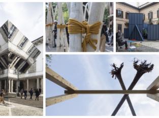 Pavilon z hub i bioplastů. Milan Design Week 2019 ukázal působivé instalace