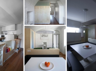 Díky rekonstrukci od BLA Architettura byste starý italský byt ani nepoznali