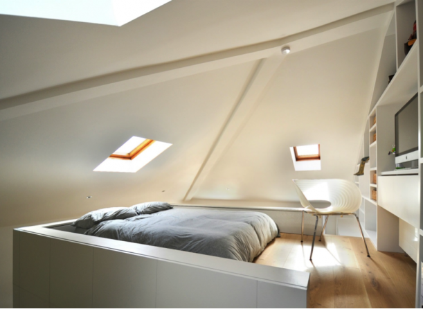 Interiér - Koupat se v prostoru