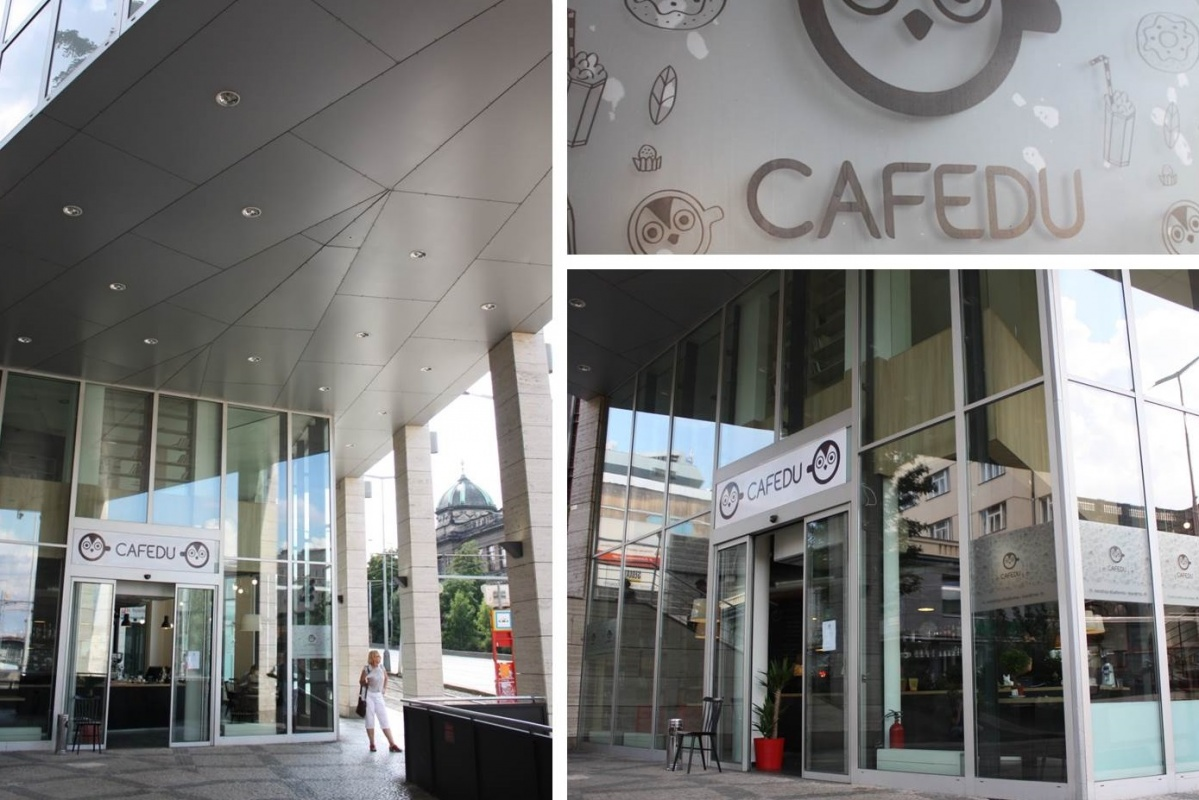 Cafedu: nonstop studovna s vůní kávy