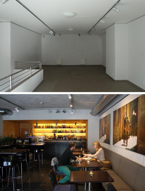 Bar / restaurace / café - Caffeine: Kavárna několika tváří