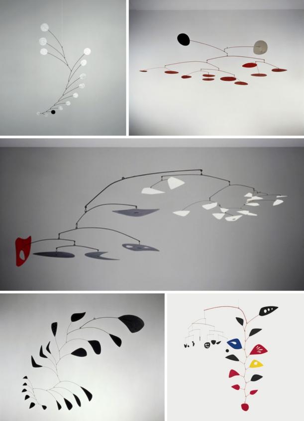 Umění - Hanging Mobile aneb proč si na strop nezavěsit pěknou dekoraci
