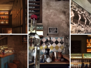 Cash Only Bar: Menu i interiér pro fajnšmekry