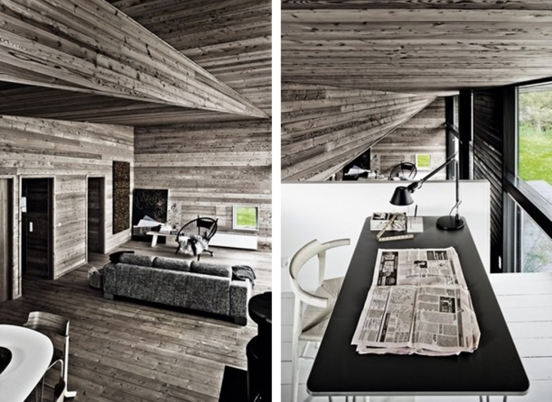 Interiér - Prázdninová chata v Raageleje