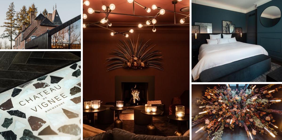 Boutique hotel Chateau de Vignée v sobě ukrývá loveckou minulost