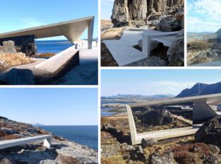 Na norském ostrově Andøya stojí honosné veřejné toalety