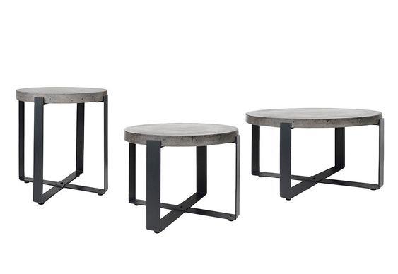 Konferenční stolek Cozy Living Concrete Round | Insidecor - Design jako životní styl