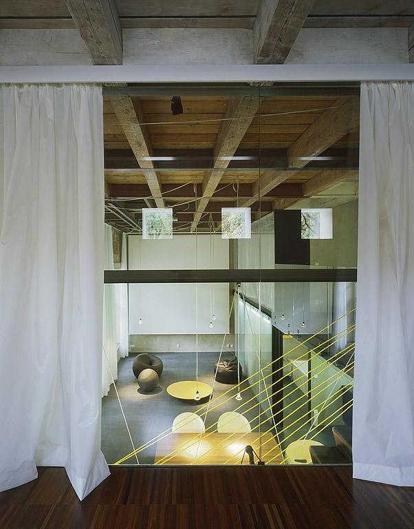 Interiér - Loft vítězící nad časem