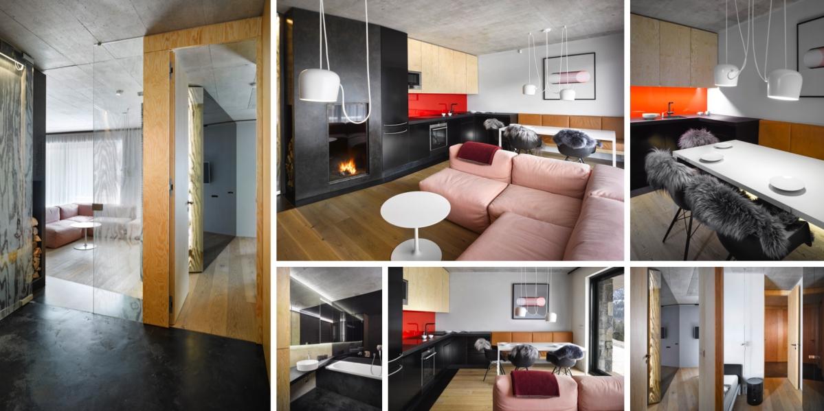 Byt ve Špindlerově Mlýně nabízí nadstandardní prázdninové bydlení