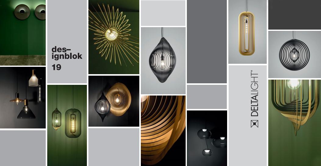 Delta Light představí na Designbloku první kolekci dekorativních svítidel
