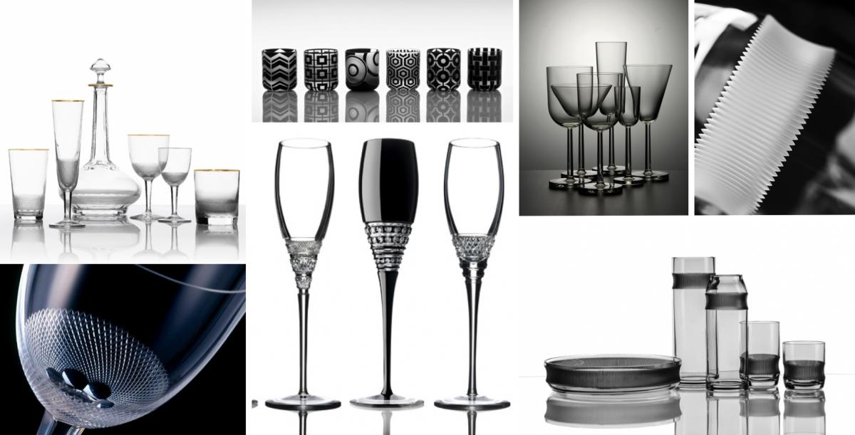 Jídelní nádobí ze skla, aneb každodenní krása oslnivých odlesků
