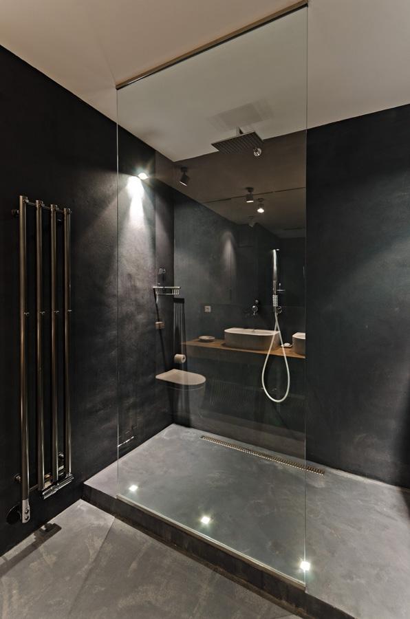 Interiér - Koupelna podle architektky Radky Valové z ateliéru OOOOX