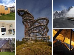 Soutěž Dřevěná stavba roku 2016 přinesla zajímavé návrhy rozhleden i lávek