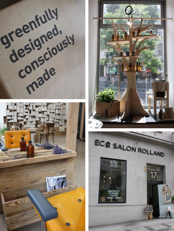 ECOart salon Rolland: kadeřnictví s přesahem