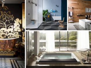 Koupelnové vybavení: zaměřeno na detail