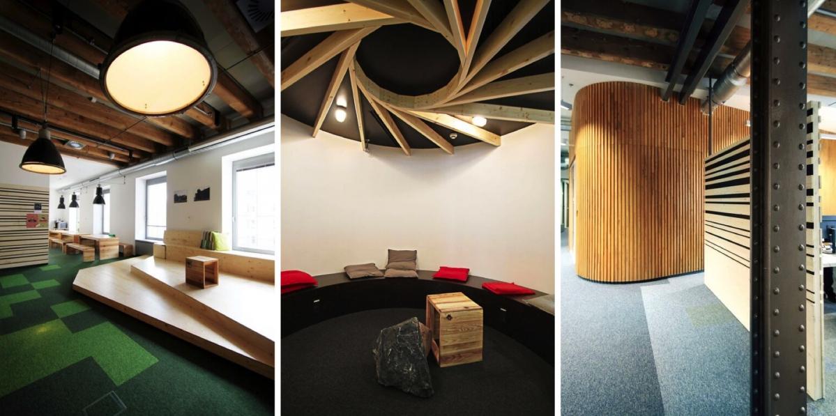 Etneteria: Pracovní prostory, které ctí své zaměstnance