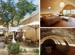 Café Fara: historická budova v semknutí s moderní přístavbou