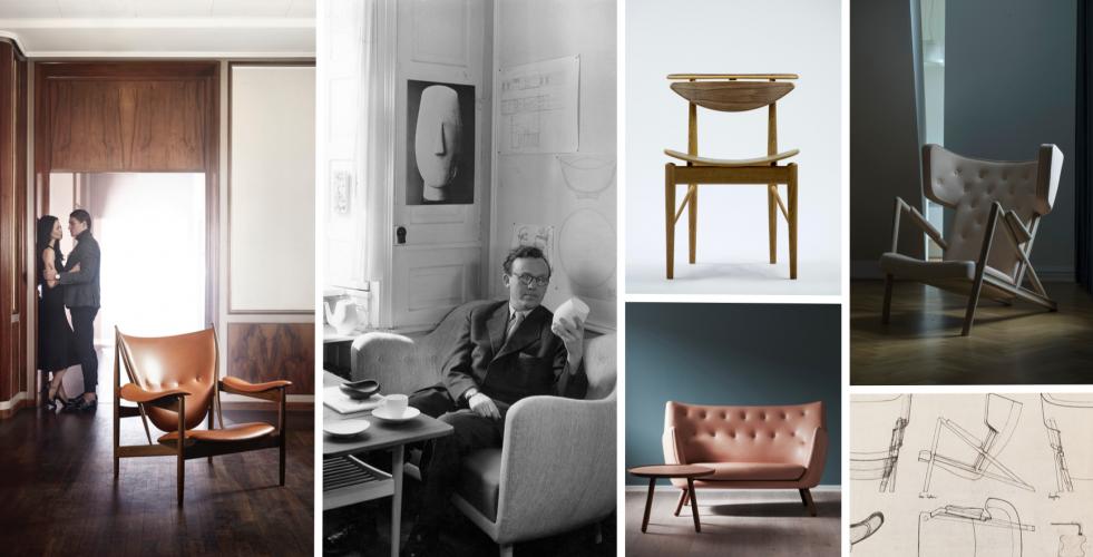 Ikona dánského designu 40. let Finn Juhl a jeho nesmrtelný nábytek