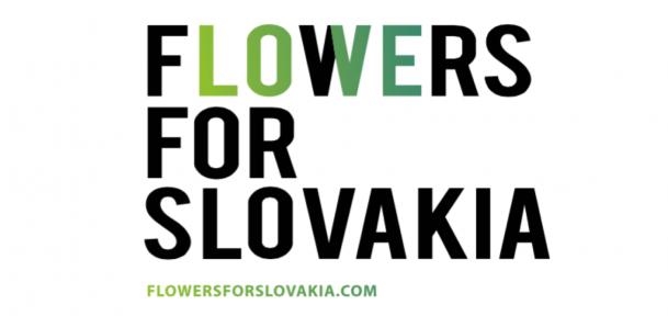 Události - Flowers for Slovakia: Když design vypráví příběhy ústy národa