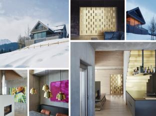 Rakouská příroda, dům mezi horami a nadčasový design