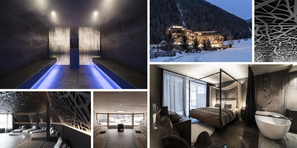 Hotel Silena v jižním Tyrolsku má mystickou atmosféru