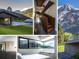 Chata v Chamonix: Když Mont Blanc zdobí výhled za okny