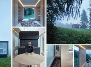 Moderní chatka na Slovensku nabízí spánek pod hvězdami i moderní úkryt