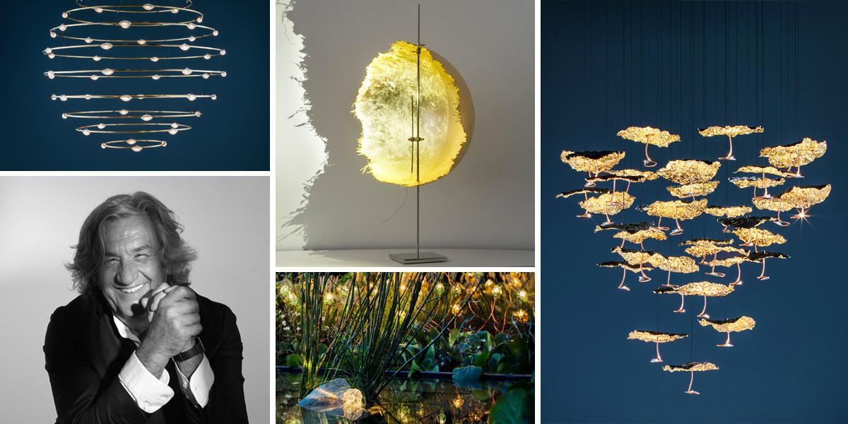 Catellani & Smith vyrábí osvětlení jako z umělecké galerie