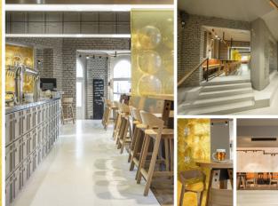 V restauraci SOU100 najdete paravány inspirované půllitrem