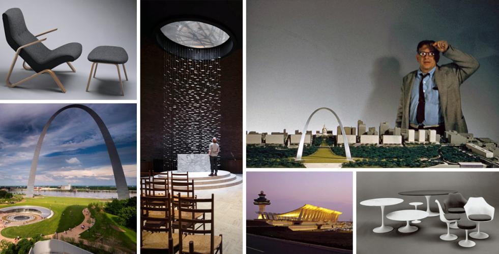 Eero Saarinen: Designér ladných forem
