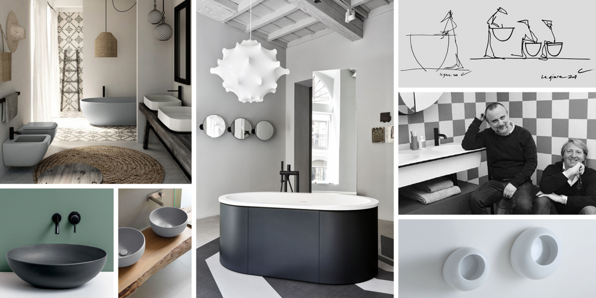 Cielo: Koupelny políbené múzou slavných designérů