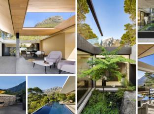 Rodinný dům v Kapském městě nabízí spojení s přírodou