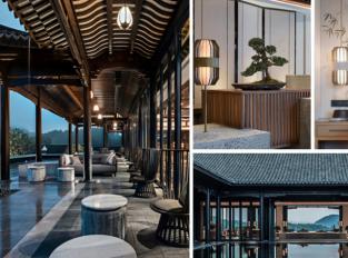 Hotel Banyan Tree Anji v Číně obklopují hory i romantická jezera